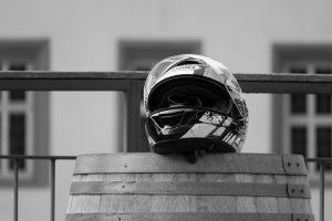 a used helmet